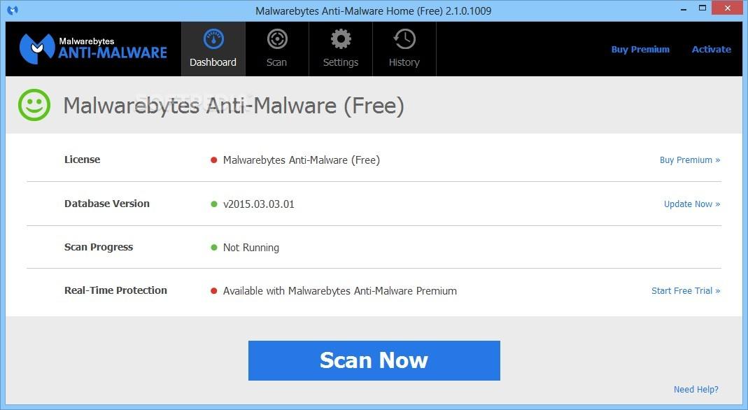 malwarebytes not working windows 10