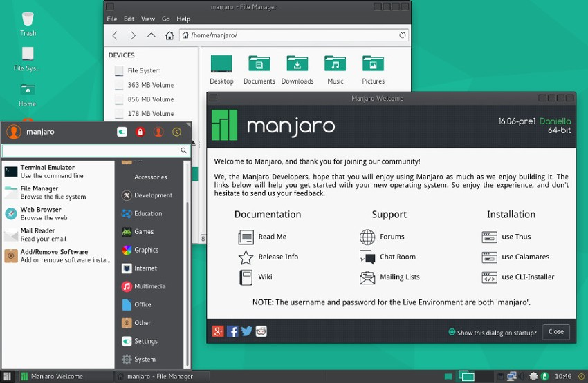 Manjaro Linux 16 06 Will Be Dubbed