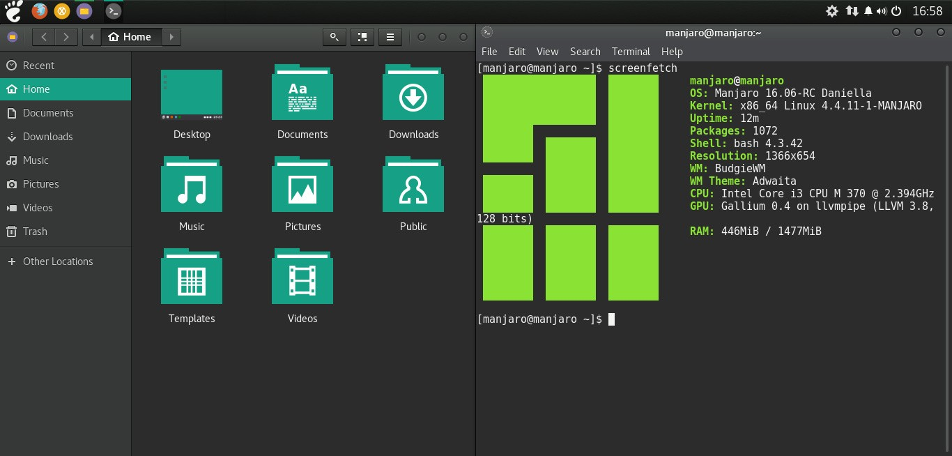 Manjaro Linux Budgie 16 06 Edition Promises a Clean Budgie