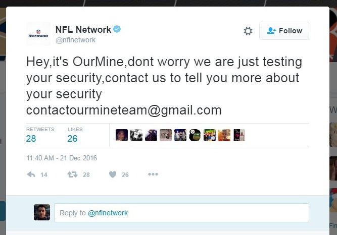 Marvel, Captain America, NFL Twitter Accounts Also Hacked by OurMine
