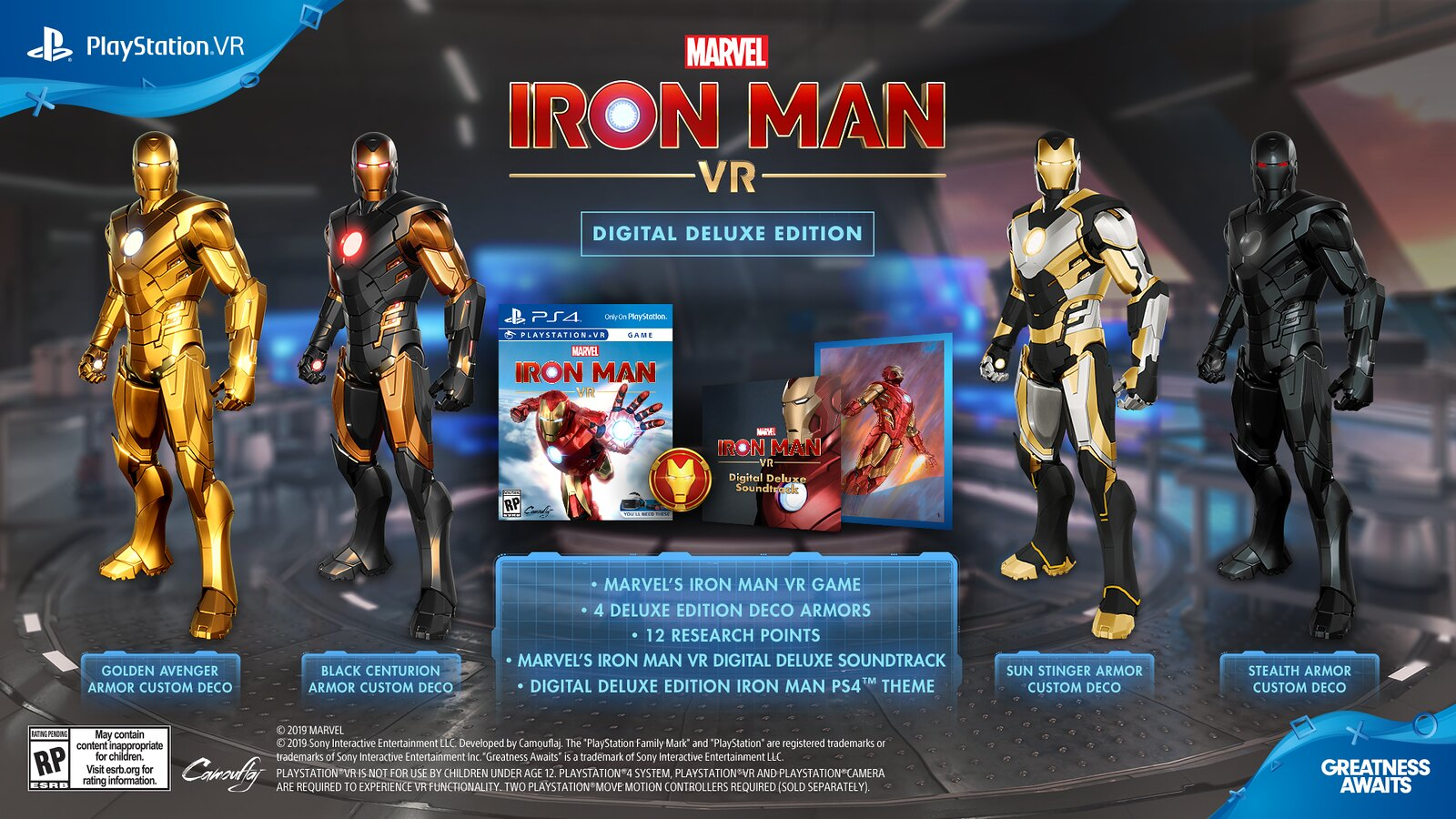 Ps4 Vr Games 2020.Marvel S Iron Man Vr Game Releases On February 28 2020