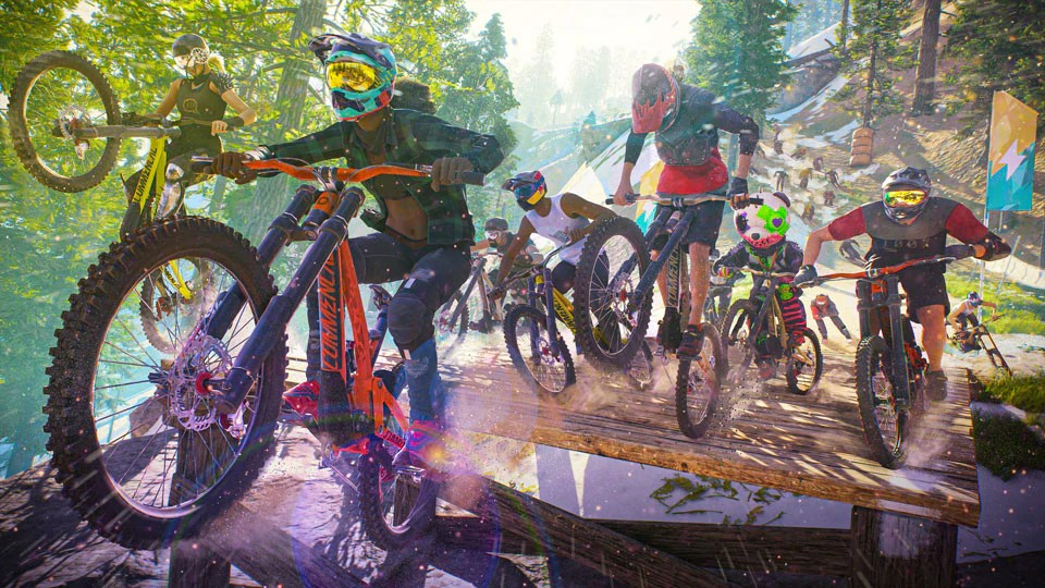Multiplayer Extreme Sports Game, Riders Republic, Revealed By Ubisoft