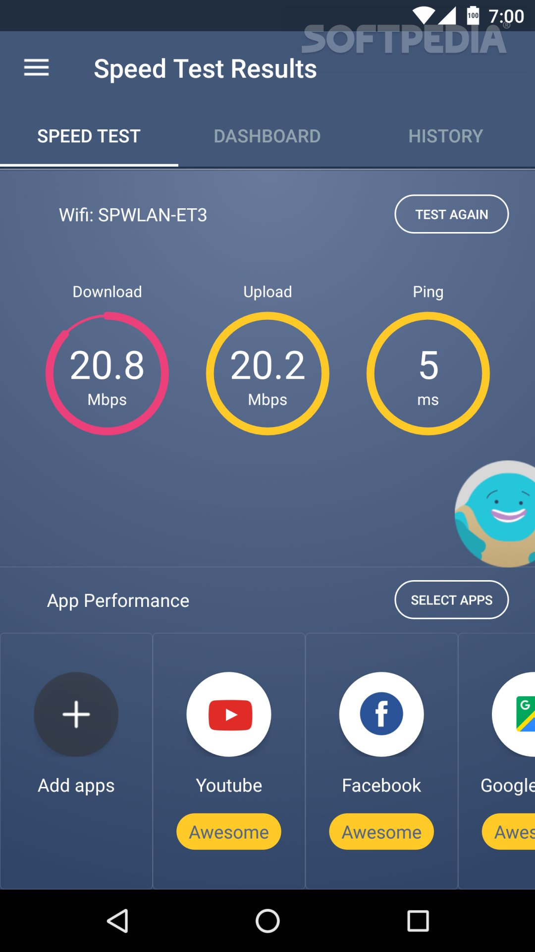 Meteor Review: Best Android App to Test Your Internet Speed