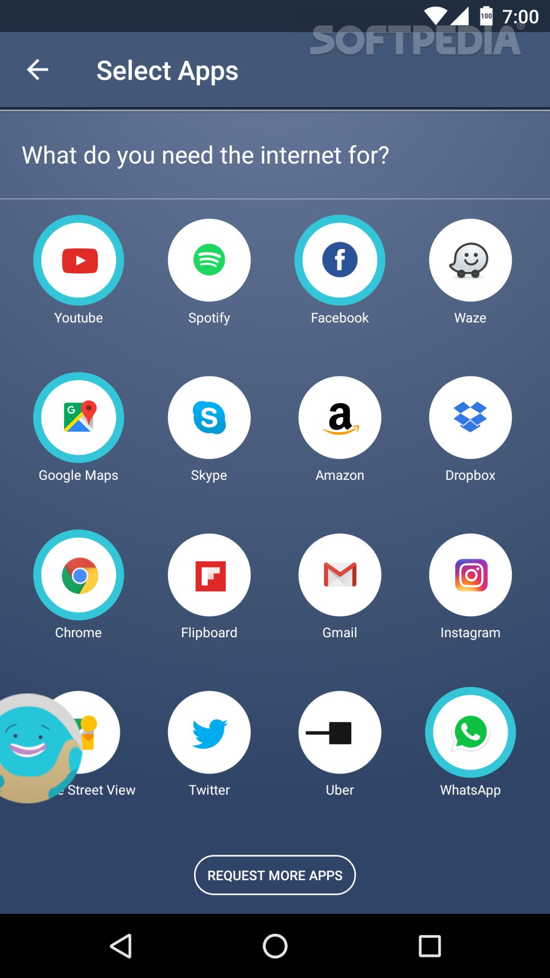 Android Internet App