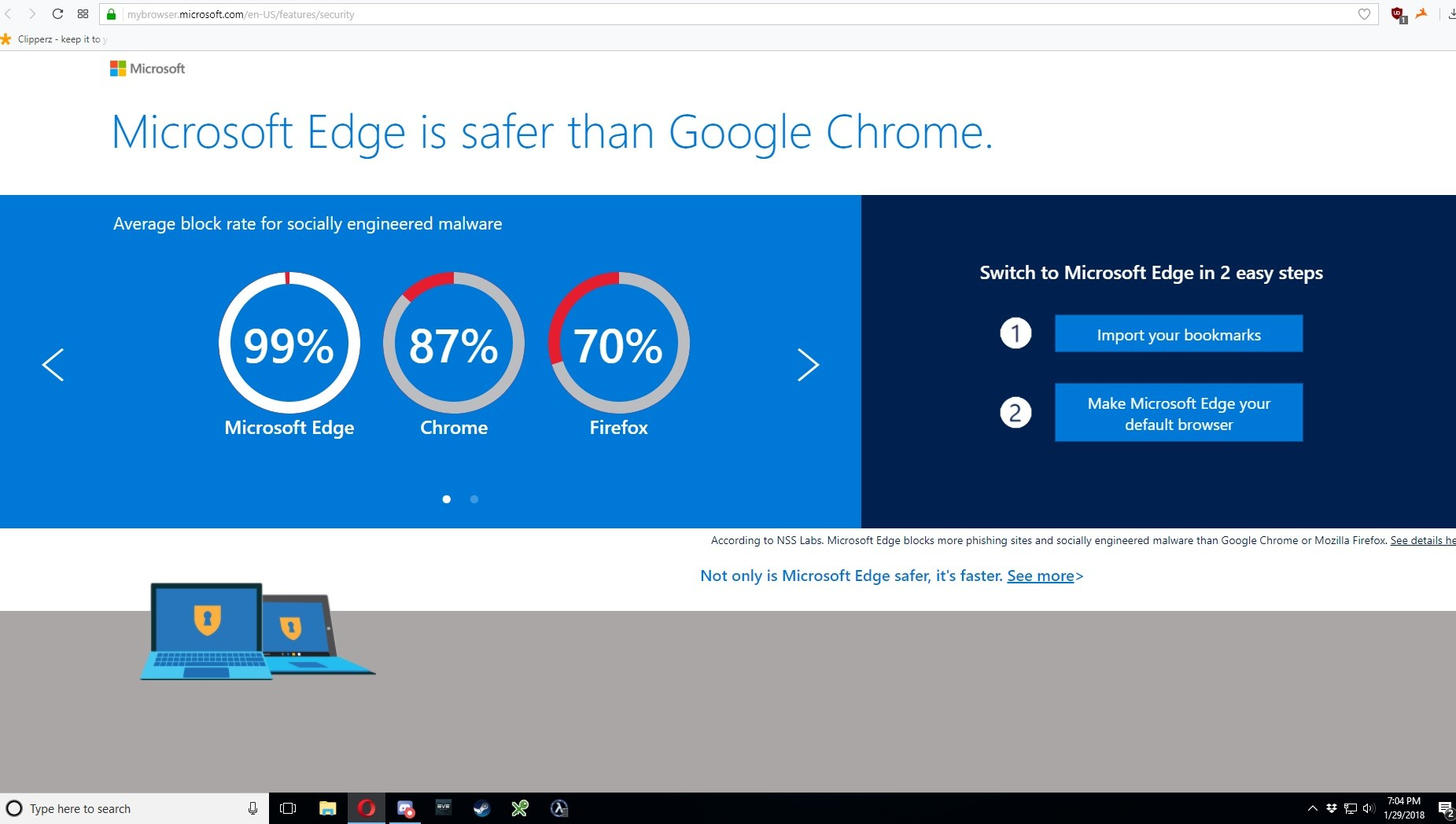 Microsoft Accused of Showing Edge Ads in Opera Browser on