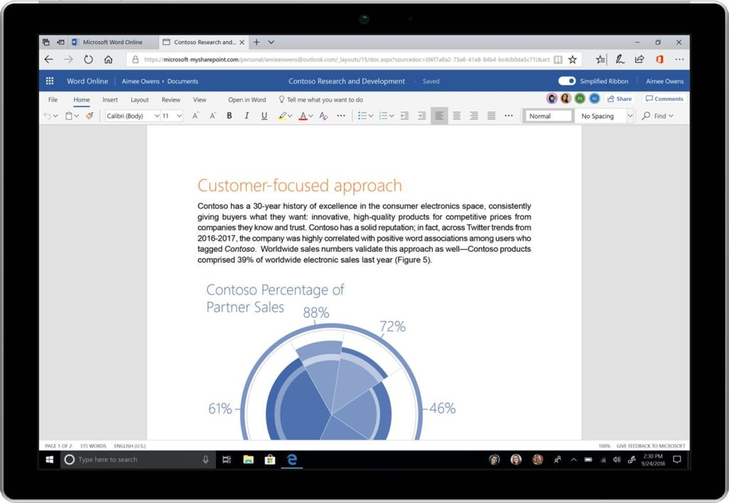 Microsoft announces fluent design update for microsoft office - Get updates for windows office and more ...