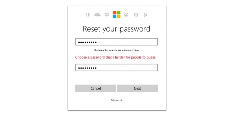 microsoft bans simple passwords that appear in breach lists