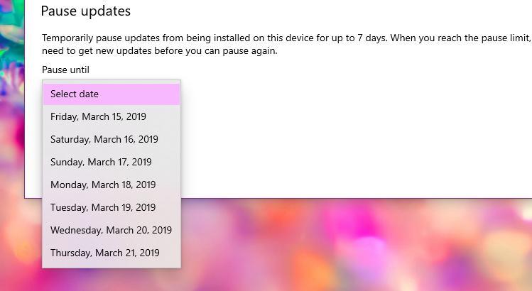 مايكروسفت تاكد تحديثات جديده لويندوز 10