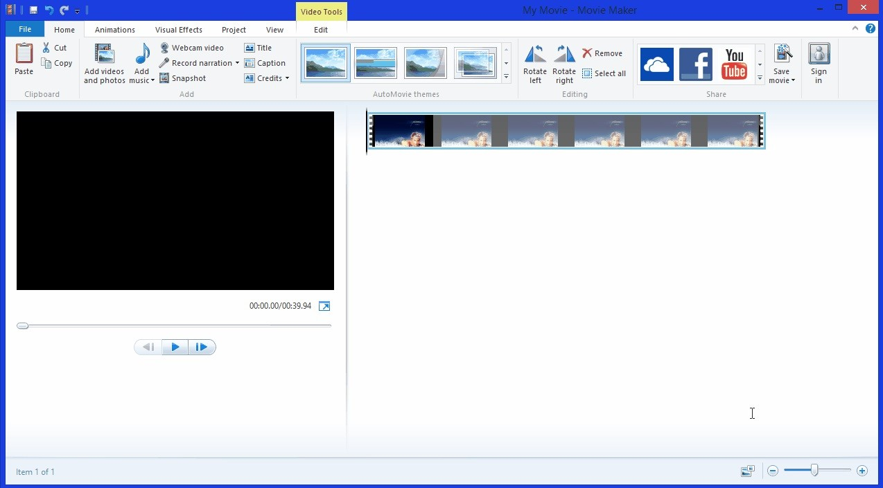Update Windows Movie Maker