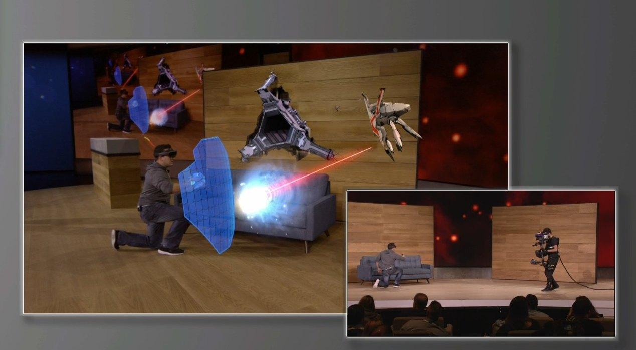 Microsoft Debuts HoloLens-Powered Mixed Reality Gaming