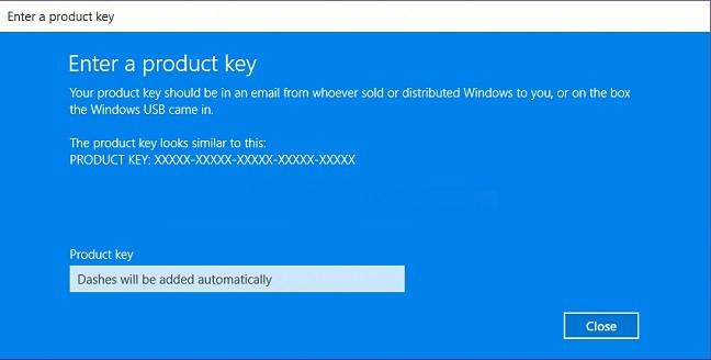 get windows 10 key registry