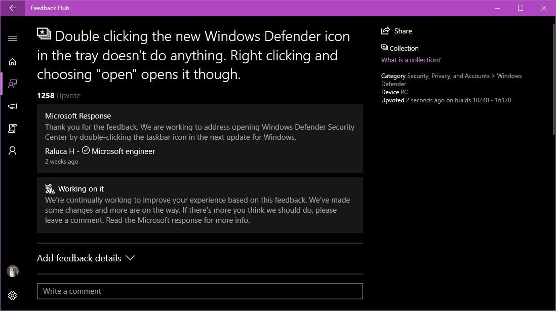 Microsoft Fixes Super-Annoying Windows Defender Bug in