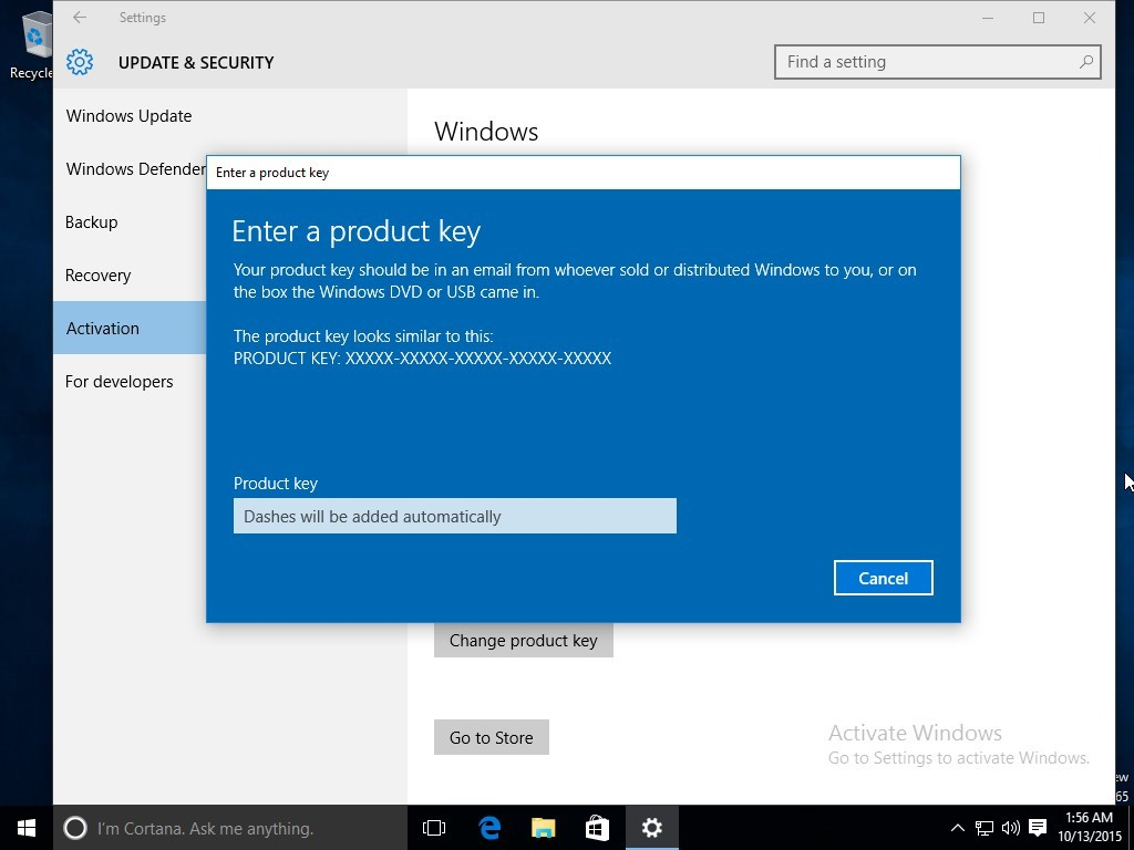 Microsoft fixes the windows 10 activation mess the new windows 10 build can be activated directly with a windows 781 product ccuart