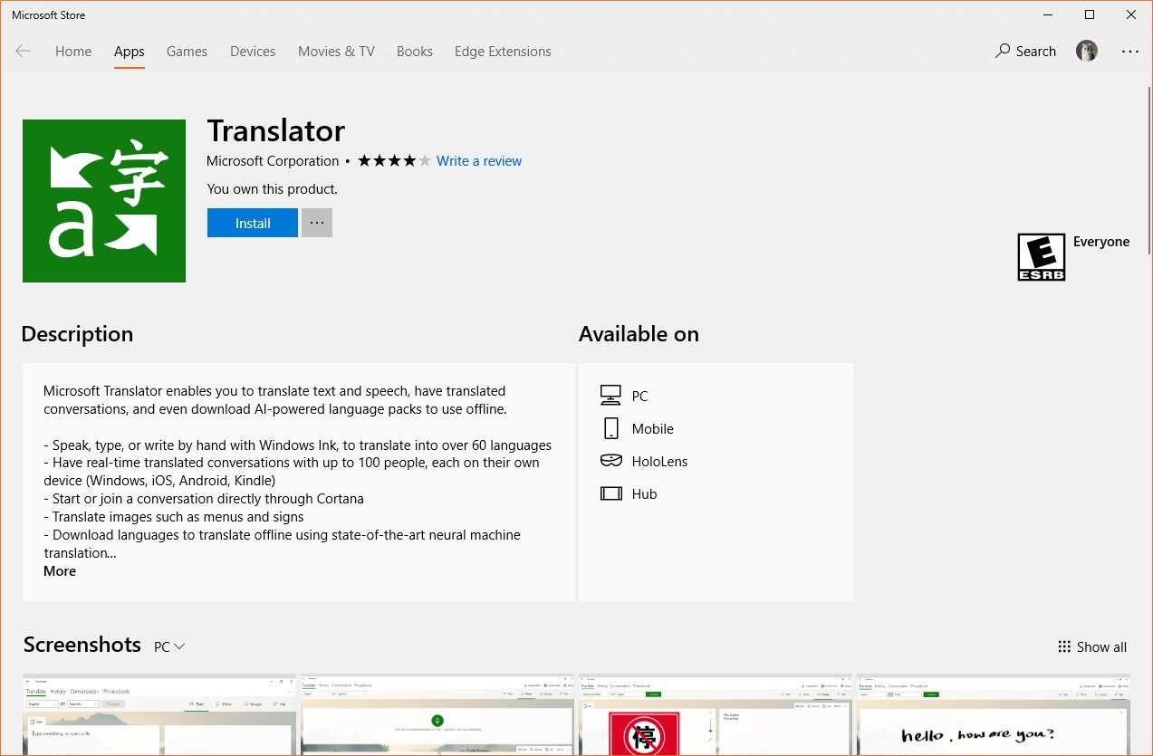 Microsoft Kills Off Translator App for Windows 8 1