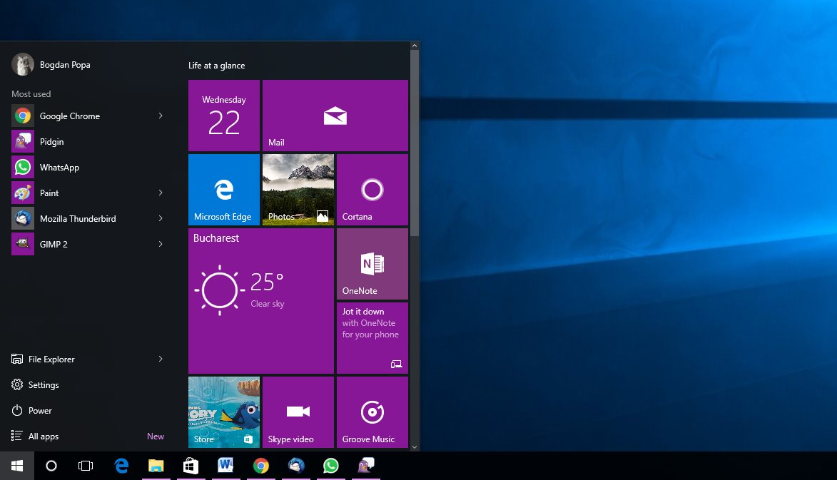 windows 10 start menu cortana not working