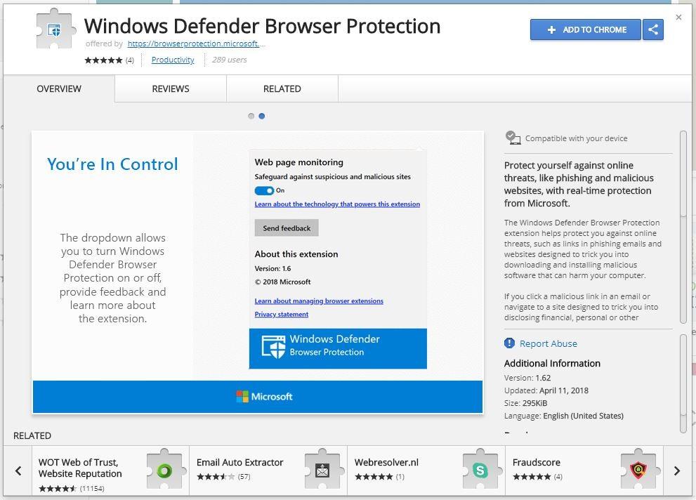 extension google contact Windows