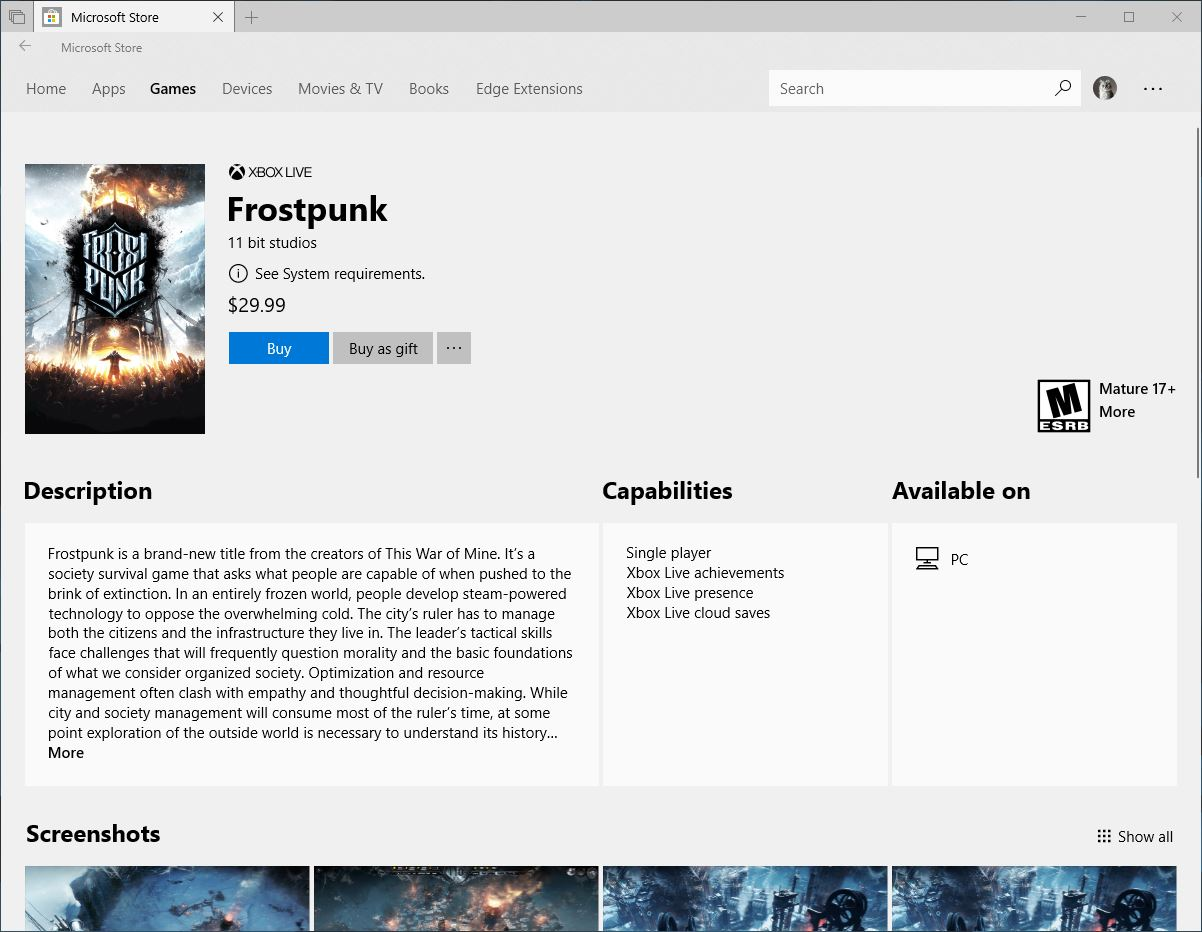 microsoft makes it easier for windows 10 users to purchase games as