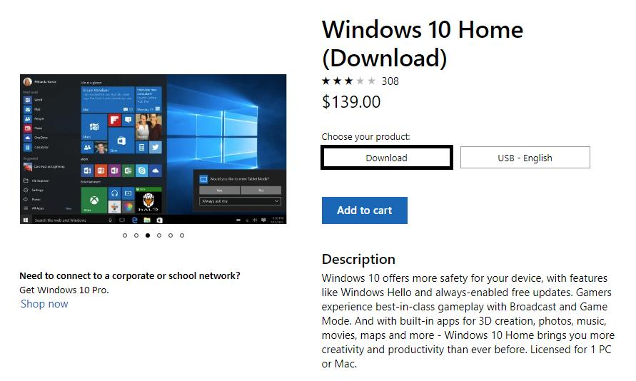 Microsoft Makes Windows 10 Home More Expensive Because Why Not