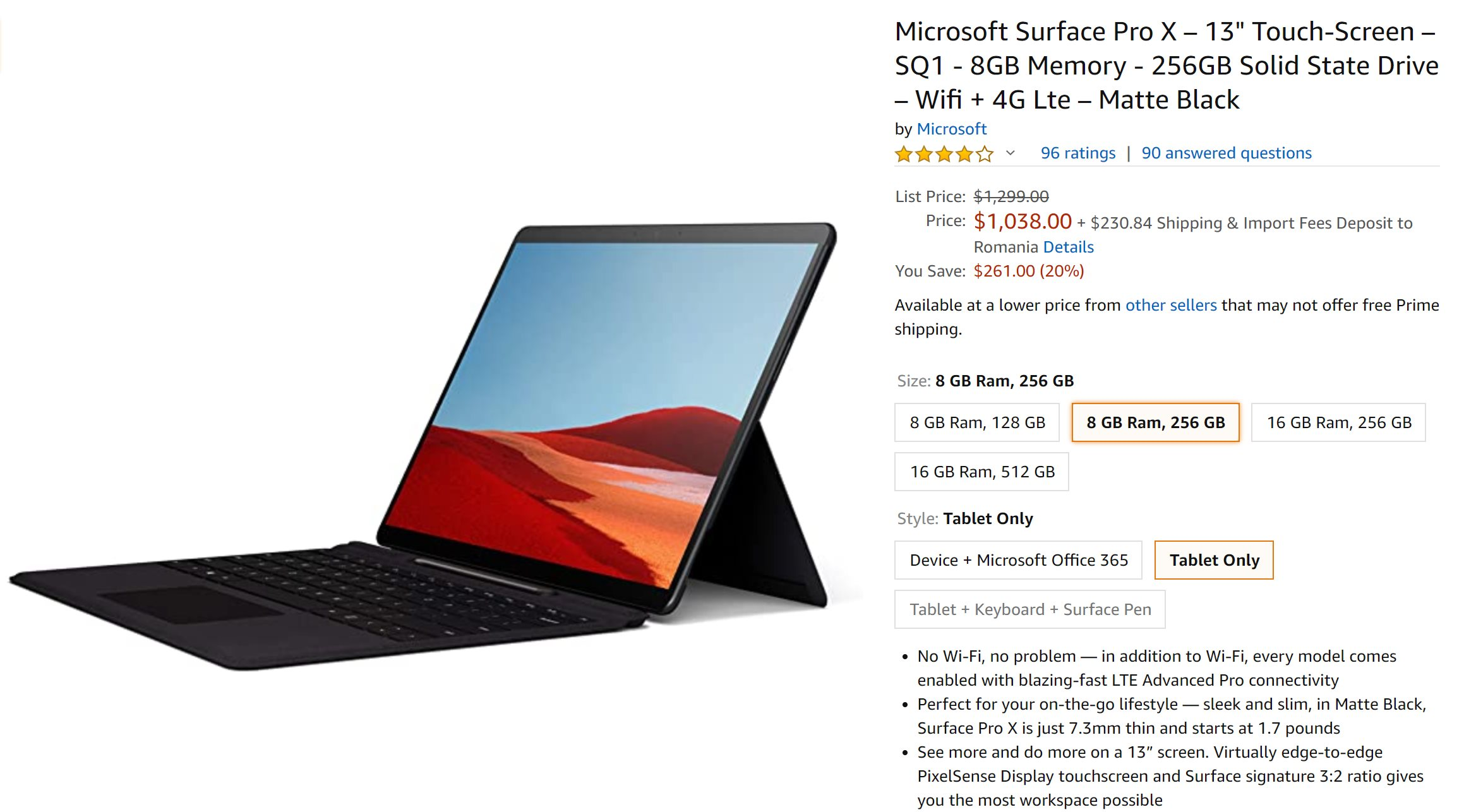 Microsoft Now Offering Major Surface Pro X Discount