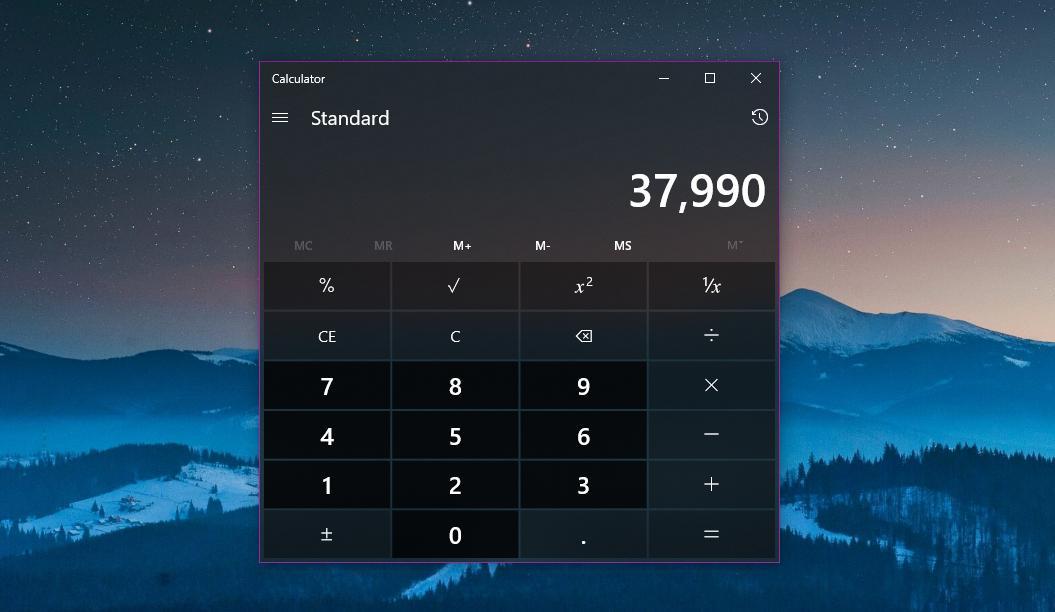 Microsoft Open Sources the Windows 10 Calculator on GitHub