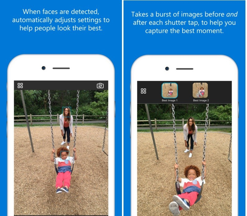 Microsoft Overhauls Its iPhone Camera App with Several