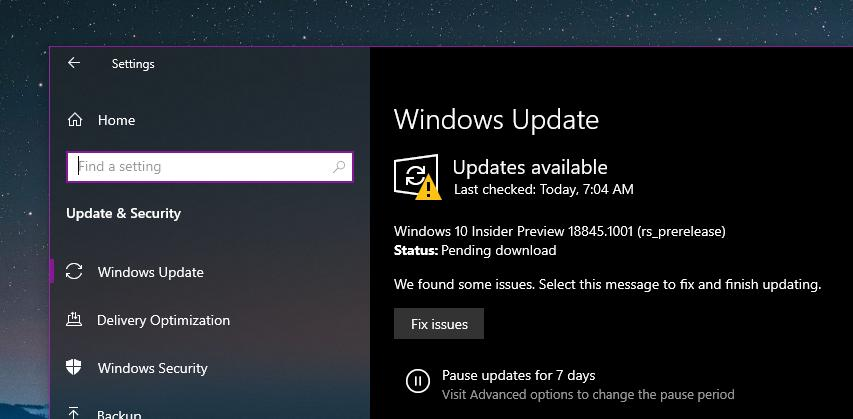 New Windows Update 2020 Microsoft Releases Another Windows 10 April 2020 Update Build with