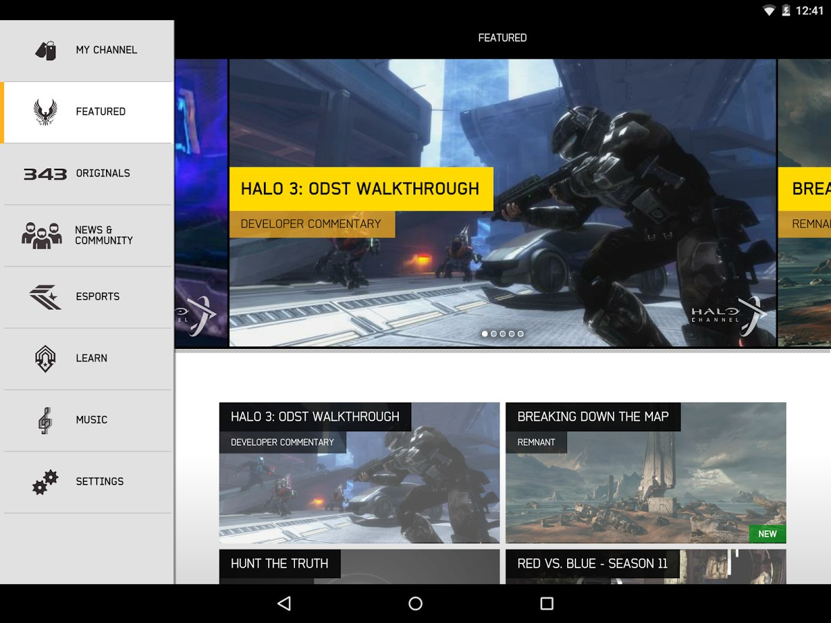 Microsoft Releases Halo Channel App on Android & iOS