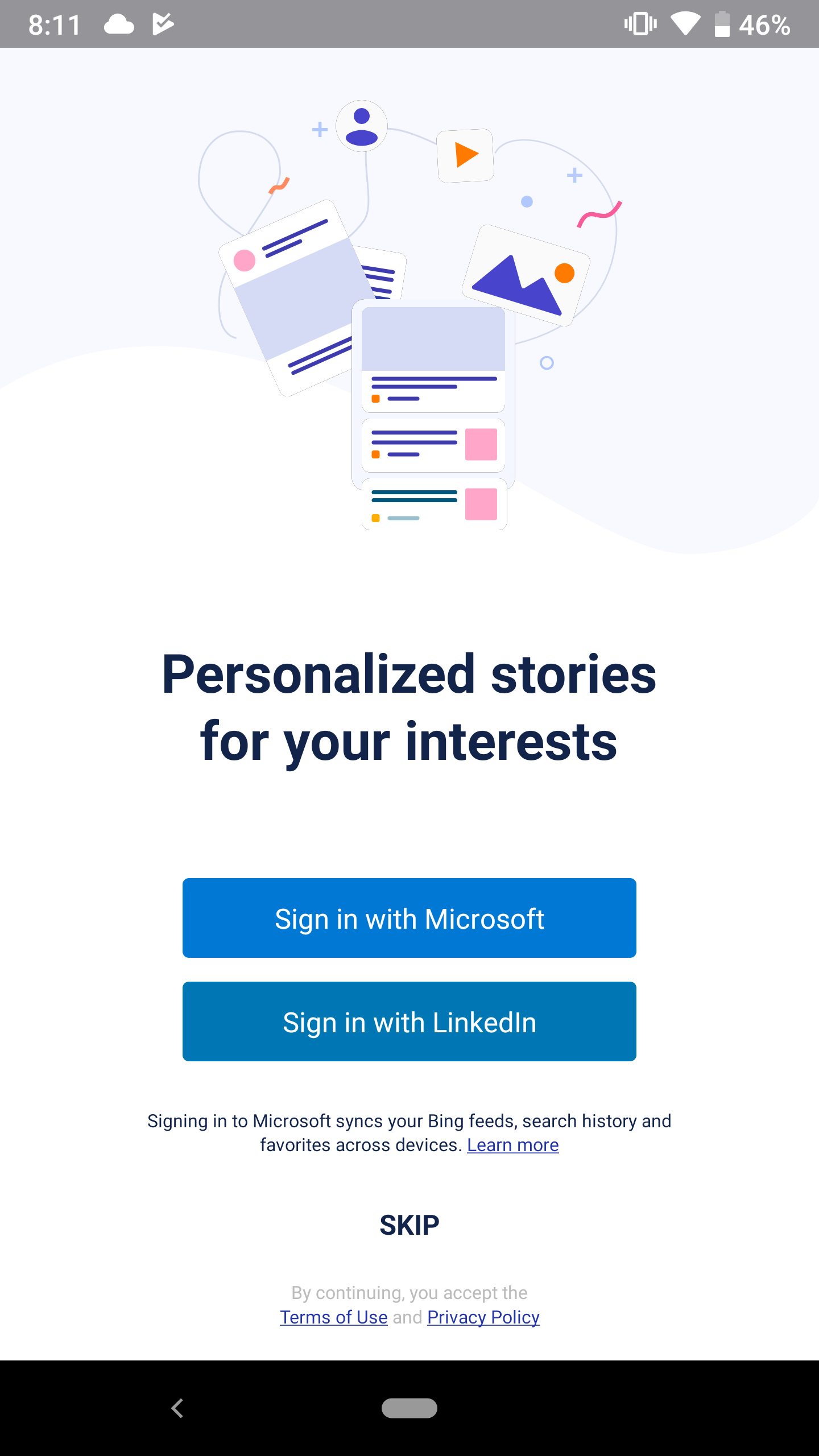 Microsoft Releases Hummingbird News App for Android