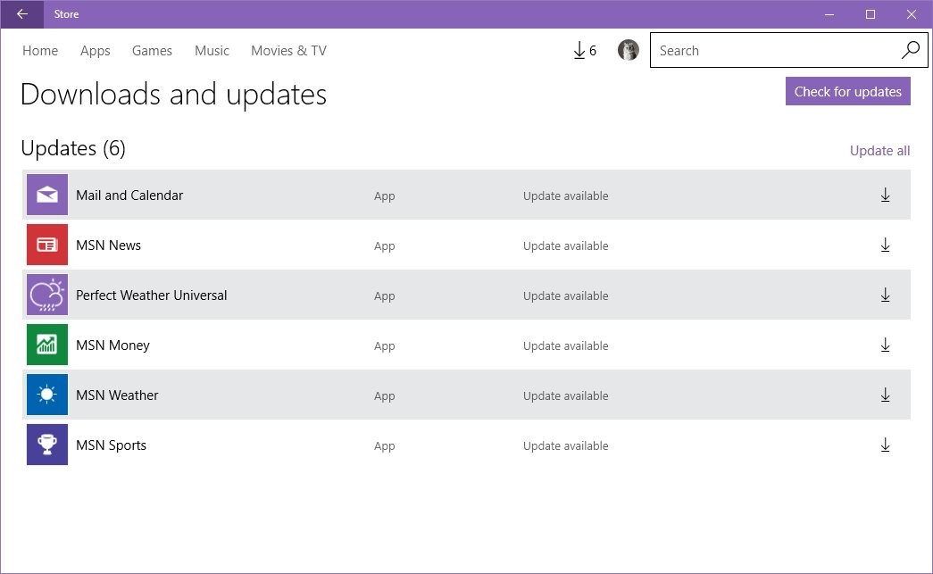 Microsoft Releases New Batch of Windows 10 App Updates