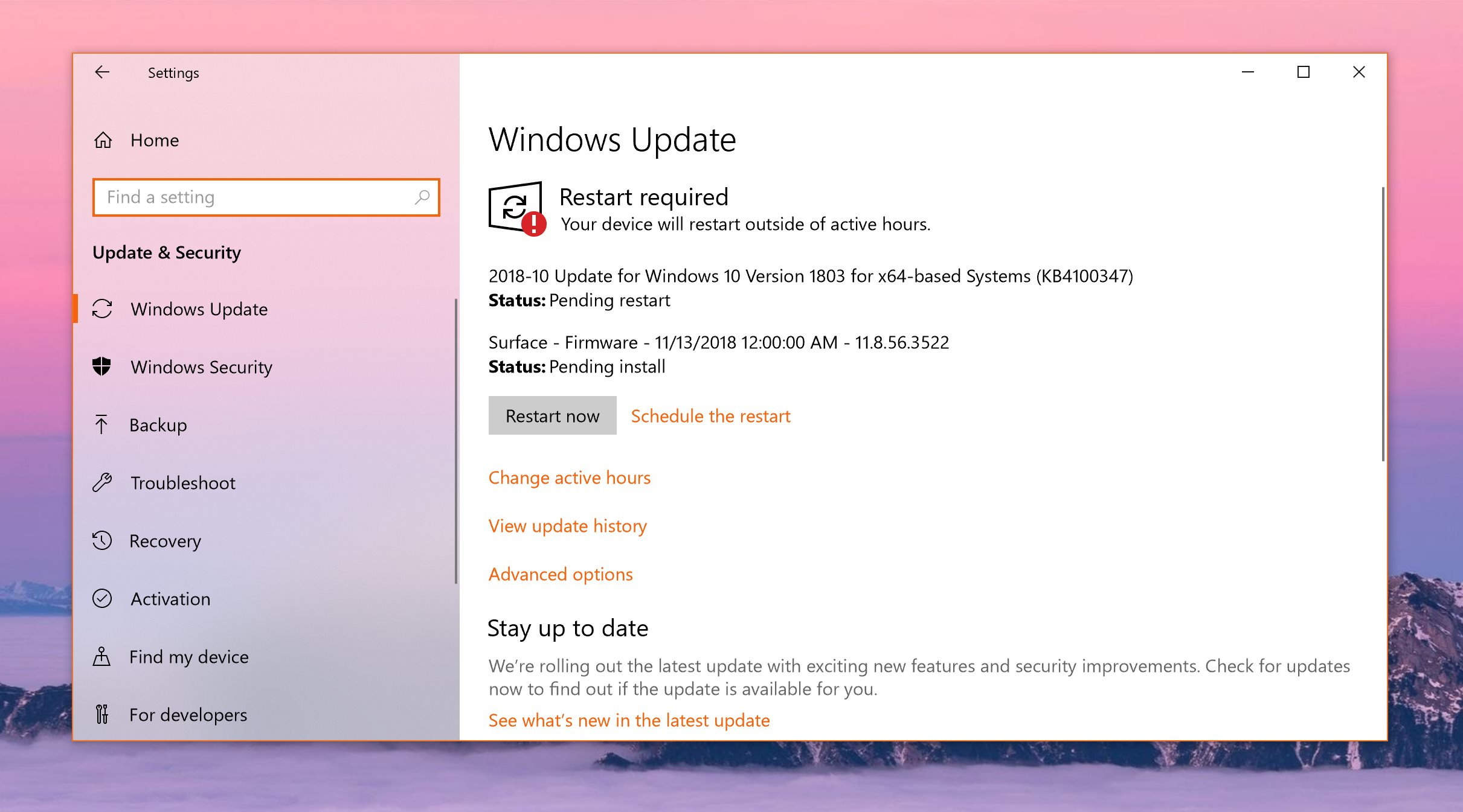 Windows 10 will now automatically uninstall system updates causing stability issues