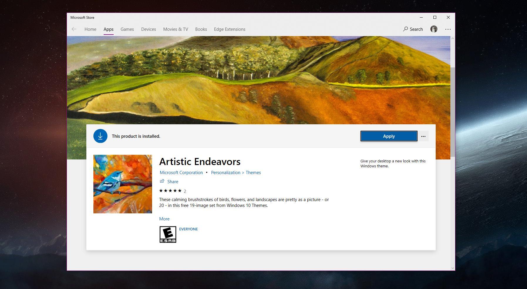 microsoft windows 10 themes free download