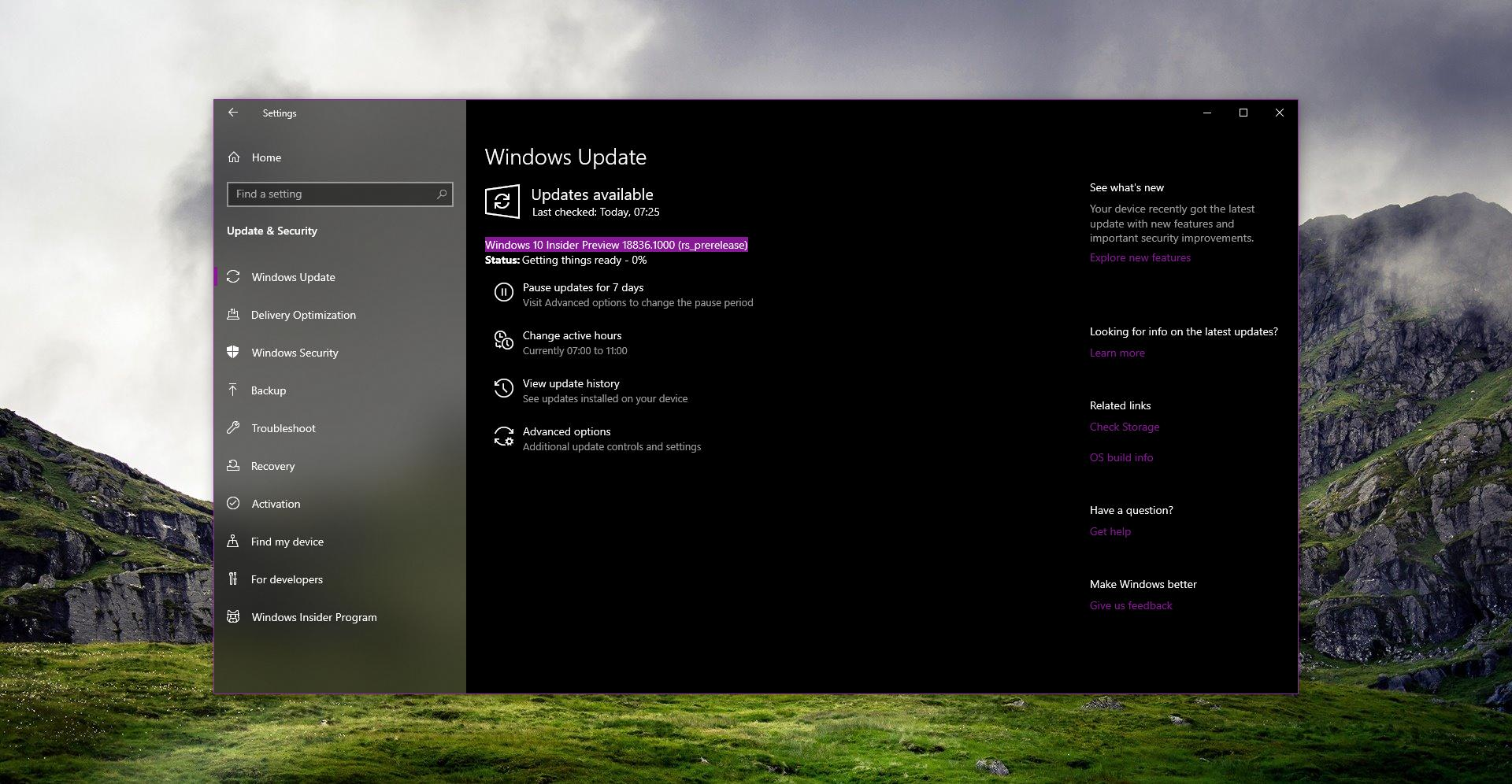 New Windows Update 2020 Microsoft Releases the First Preview of April 2020 Windows 10