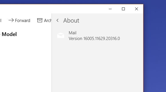 Microsoft Releases Update for Default Windows 10 Mail App