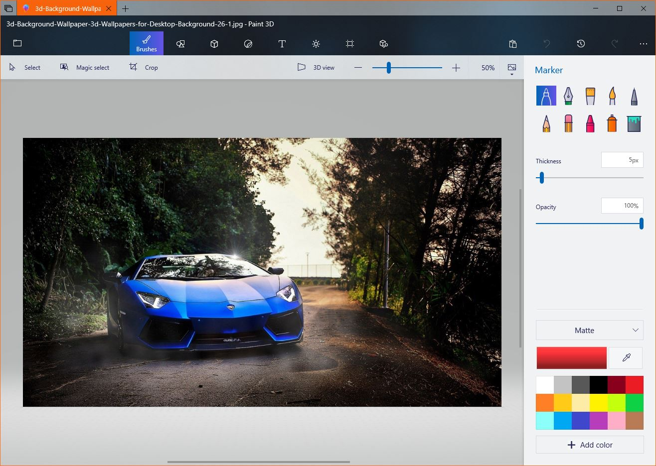 Microsoft Releases Update For Windows 10 Paint 3D App