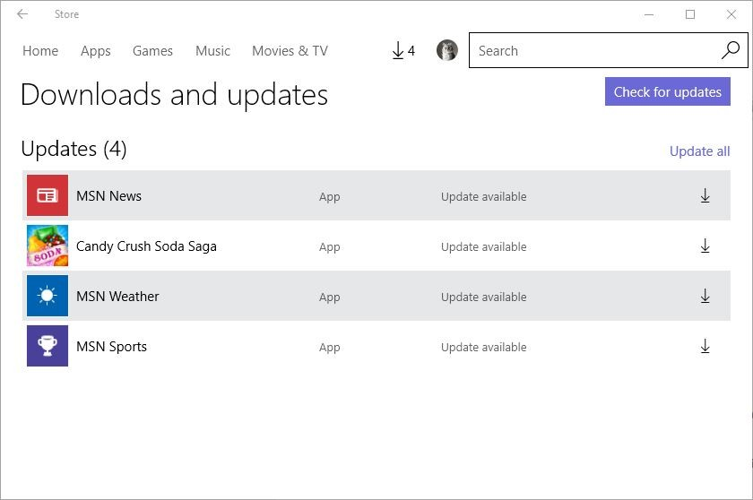 Microsoft Releases Updates for Several Windows 10 Apps, Including