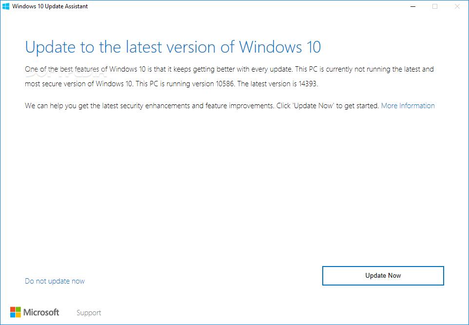 Windows 10 Update Assistant Error 0x8007000d