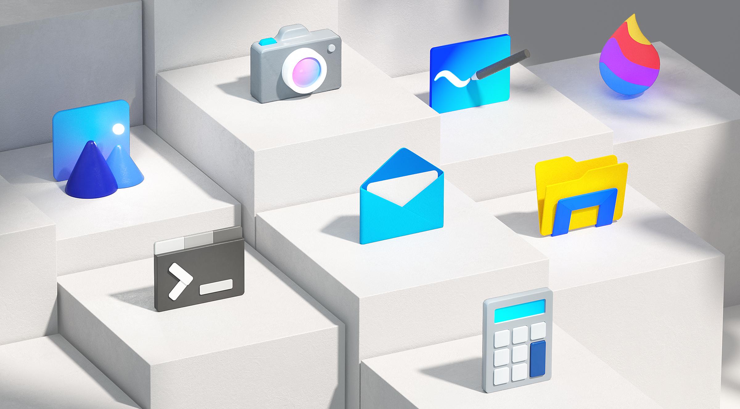 Microsoft Reveals Major Windows 10 Icon Update Based On Fluent Design