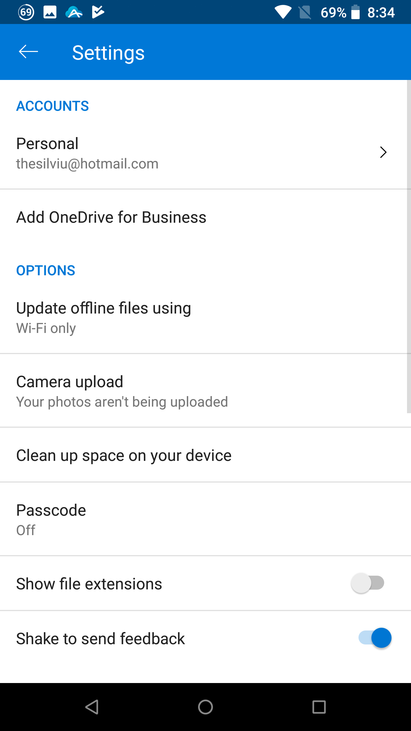Microsoft Rolls Out New Look for OneDrive on Android