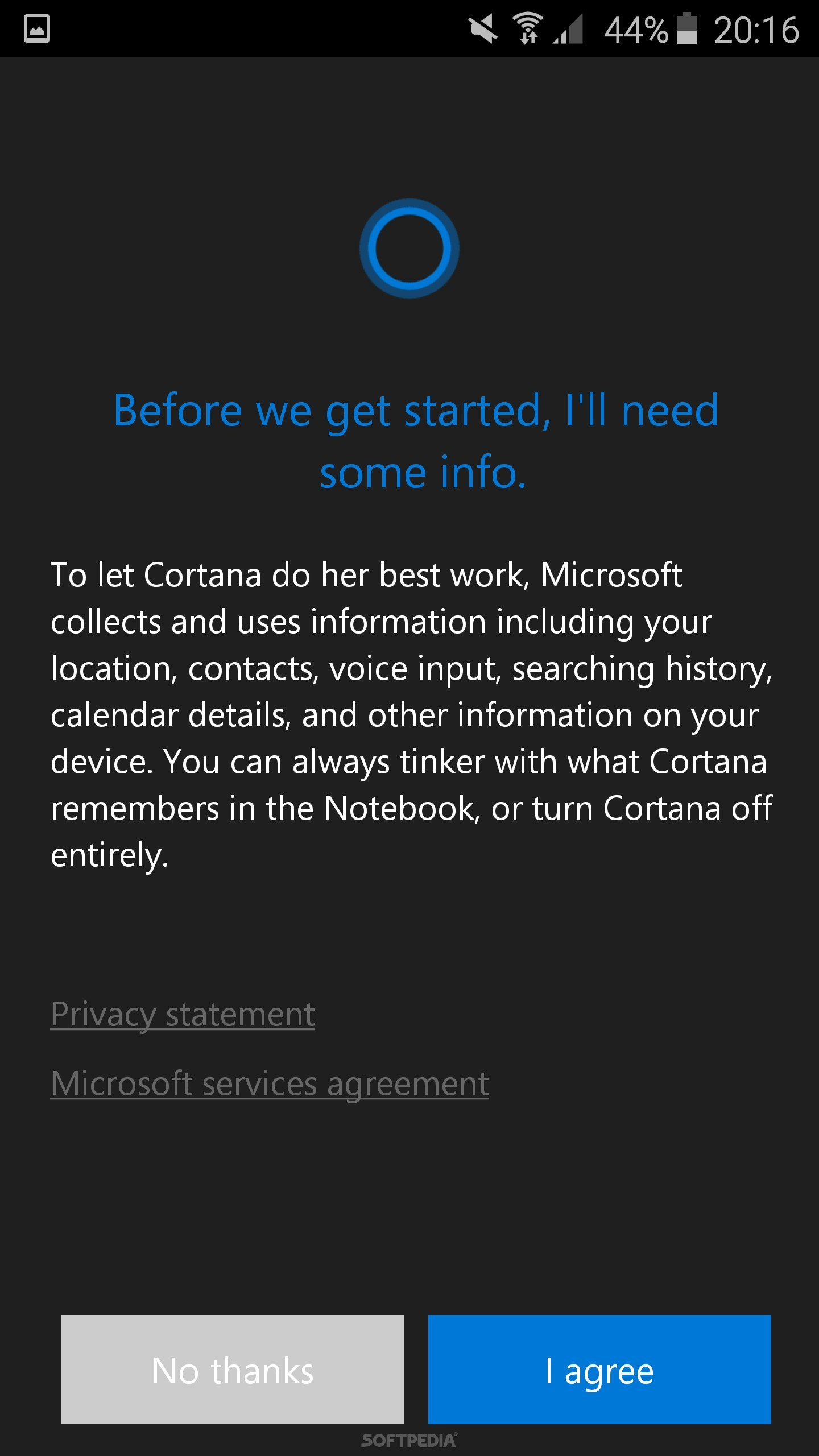 Microsofts cortana for android beta leaks screeenshot tour cortana for android beta cortana for android beta platinumwayz