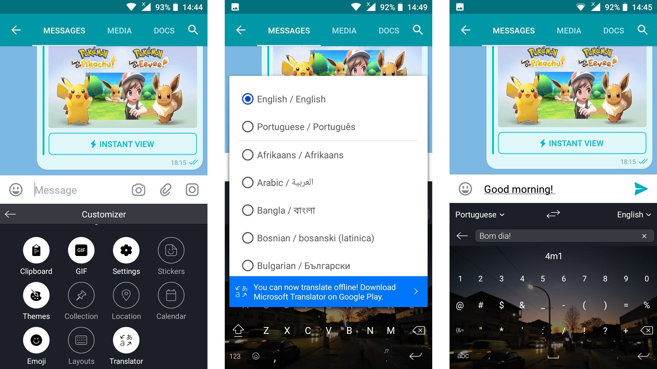 Microsoft's Keyboard App for Android Can Now Translate Text