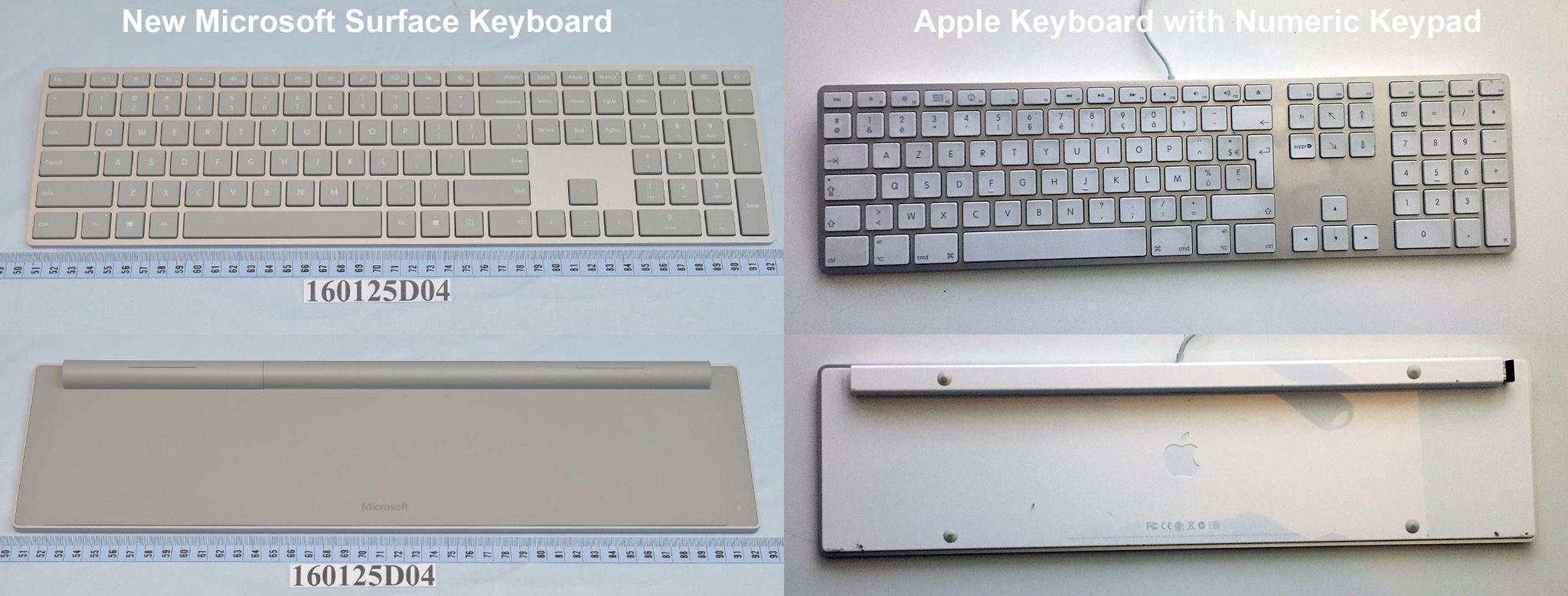 microsoft surface comparison