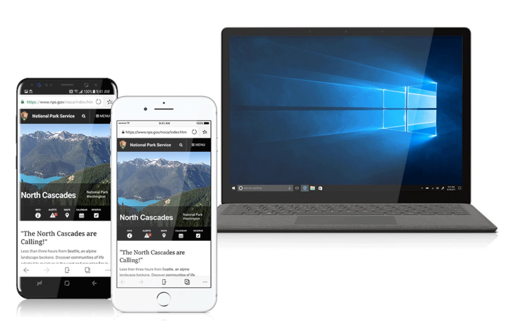 Microsoft's Windows 10 Browser Now Available for All iPhone
