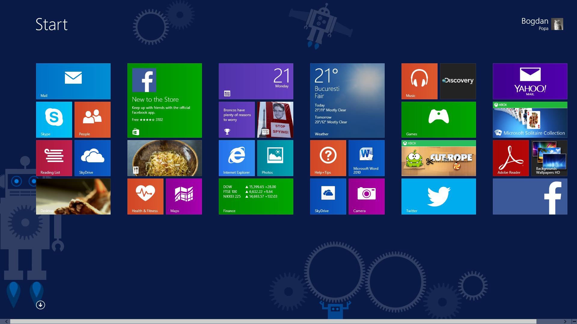 Microsoft Should Bring Live Tiles To The Windows 10 Desktop