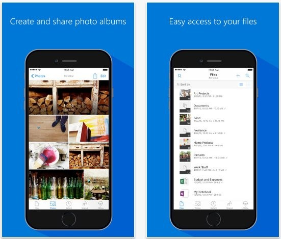 Microsoft Spoils the iPhone With Another Exclusive OneDrive