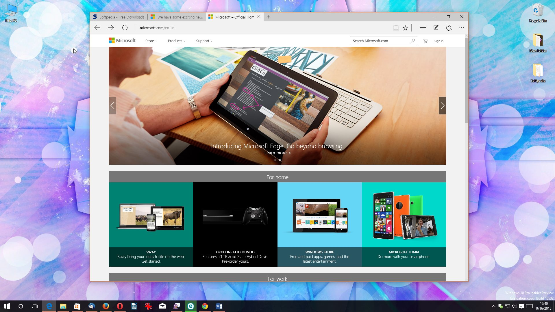 Microsoft Still Not Planning to Launch Edge Browser on