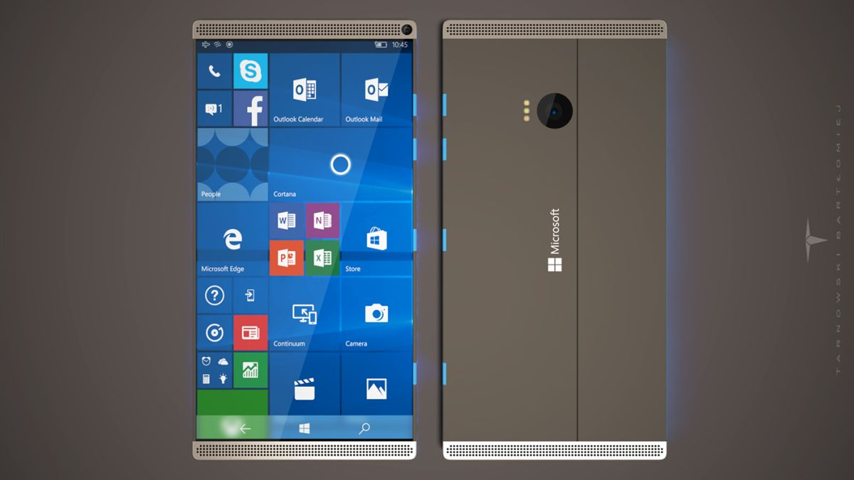 Concept Bad microsoft surface phone concept looks and bad at the same