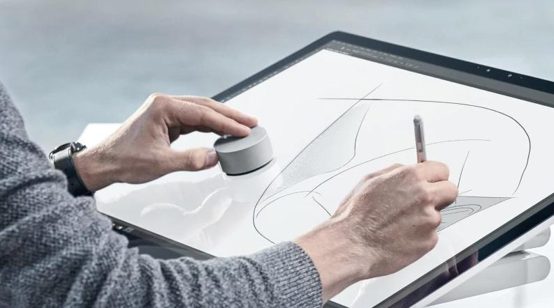 Microsoft Surface Pro 4 Finally Gets Surface Dial Support