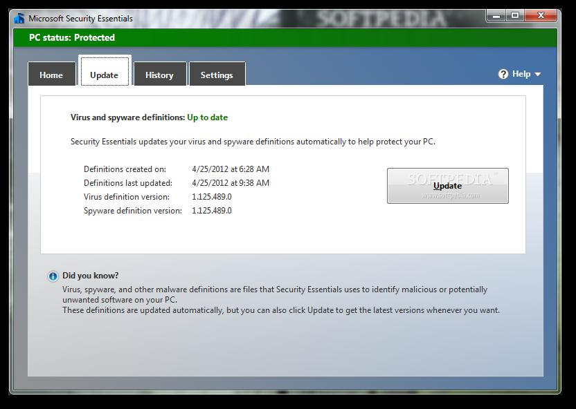 free microsoft antivirus software for windows 7