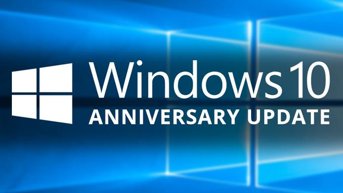 microsoft windows 10 anniversary update 1607