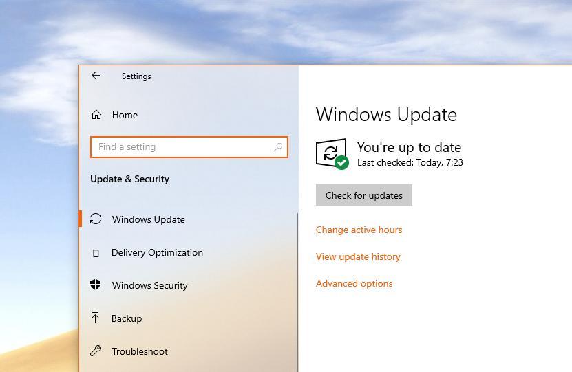 windows 10 update issues feb 2019